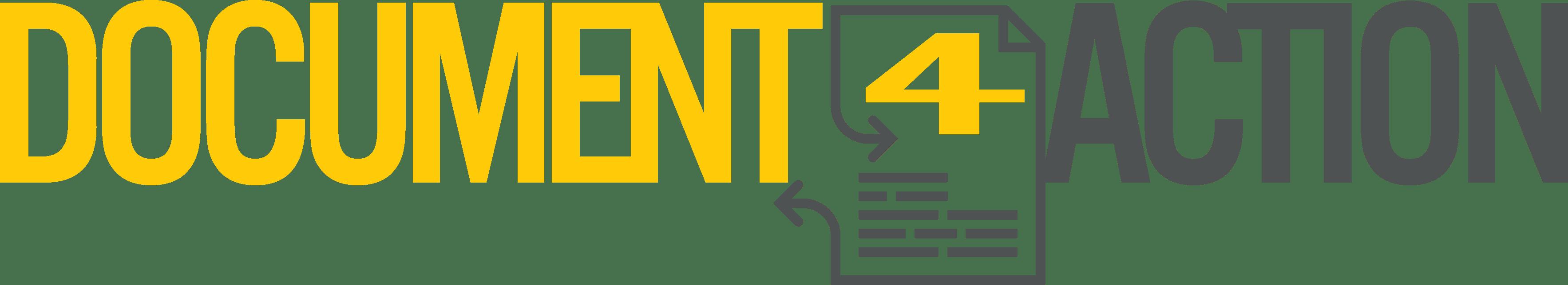 Logo horizontal de Document4Action