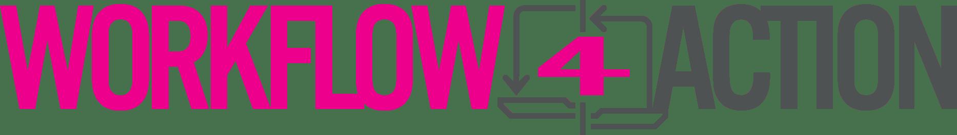 Logo horizontal de Workflow4Action