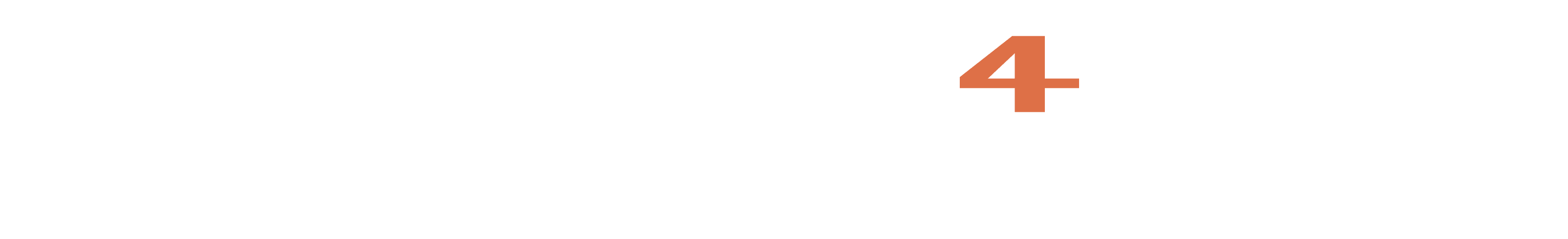 Compliance4Action Horizontal Logo blanc