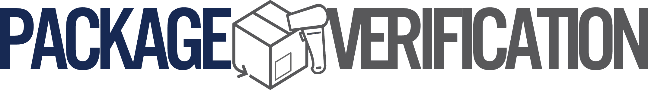 Vérification des colis Logo horizontal