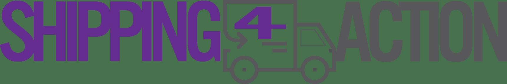 Logo horizontal de Shipping4Action