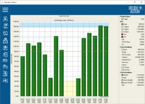 Cases per hour screenshot