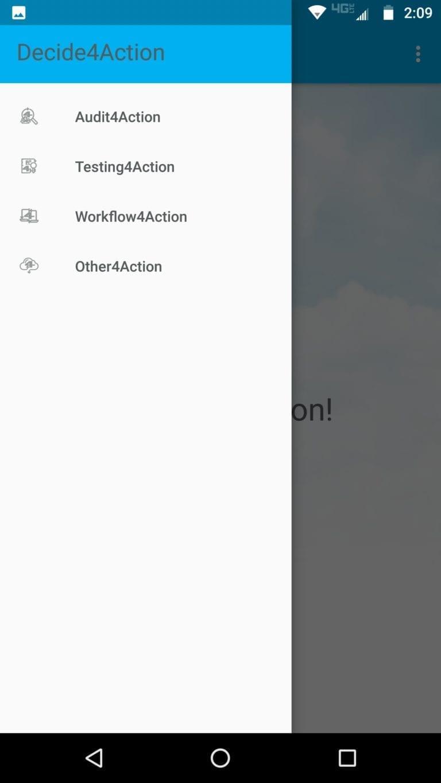 Compliance4Action selection screenshot mobile