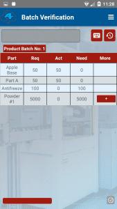 Batch items screenshot