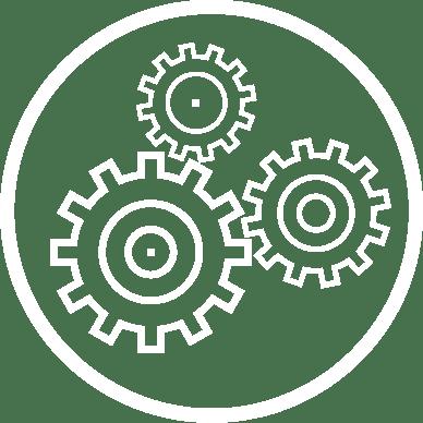 Custom gears icon