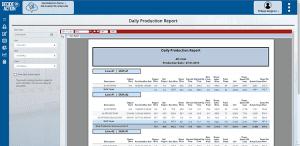 Daily production screenshot